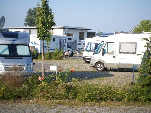 Wohnmobilstellplatz Bad Schönborn
